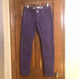 Express - Purple - Jean Legging - Size 4